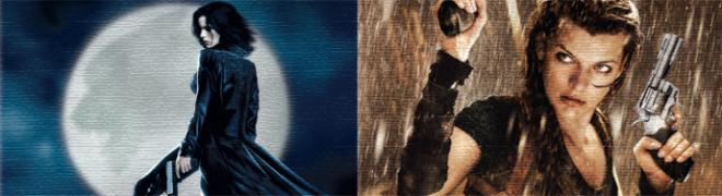 Artwork & Details: Underworld/Resident Evil: Afterlife 4K UHD
