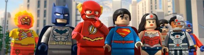 LEGO DC Comics Super Heroes: The Flash BD + Screen Caps