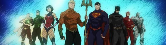 Review: Justice League: Throne of Atlantis BD + Screen Caps