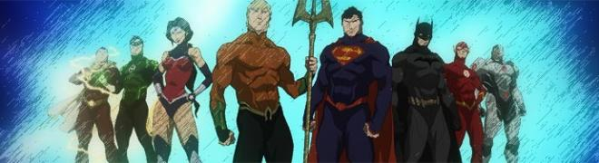 Review: Justice League: Throne of Atlantis BD + Screen Caps