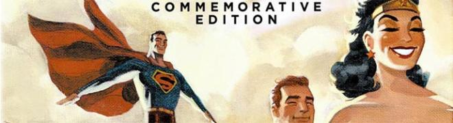 Artwork & Details: Justice League: The New Frontier - Commemorative Edition Blu-ray & DVD - 10/3/17
