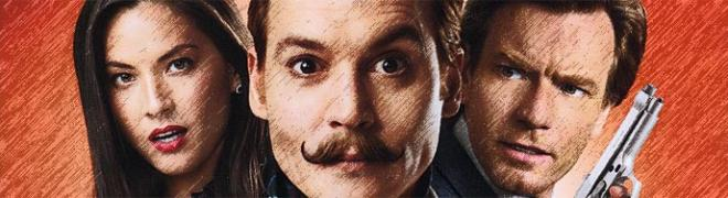Review: Mortdecai BD + Screen Caps